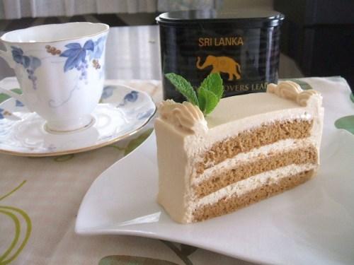 テ~紅茶のケーキ