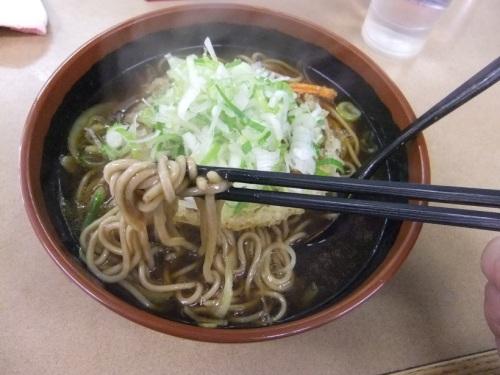 えびすや@横須賀中央のカレー天ぷらそば2