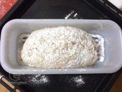 150527「ホシノ新ビール酵母パン種」2度目、ライ麦入り - 二次発酵開始