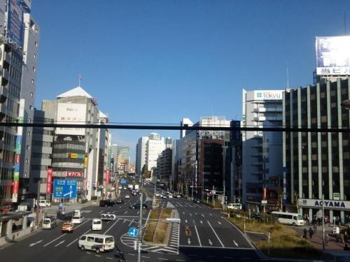 東京風景,東京都品川区,五反田駅,山ノ手線,国道1号