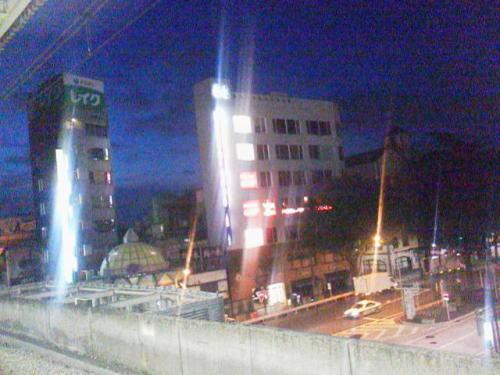 東京風景,東京都杉並区,阿佐ケ谷駅,中央線,夜明け前