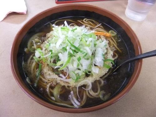 えびすや@横須賀中央のカレー天ぷらそば480円1