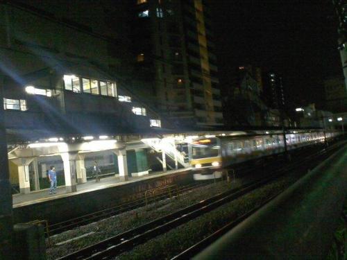 東京風景,東京都中野区,東中野駅,中央線