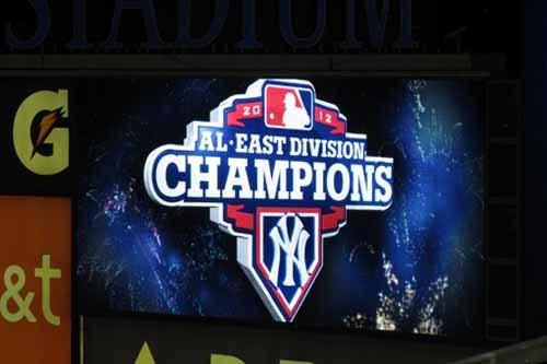 ヤンキース地区優勝.JPG