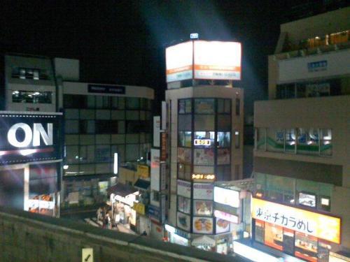 東京風景,東京都杉並区,西荻窪駅,中央線,ホーム