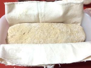 150627 ライ麦種を使ったライ麦パン - 二次発酵開始