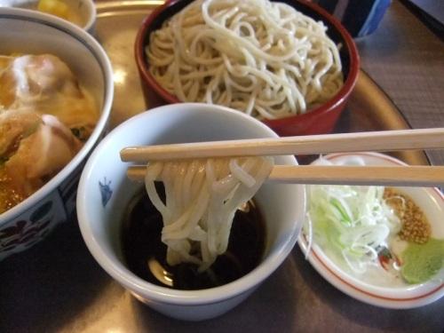 西新井7丁目・田奈加の親子丼セット2