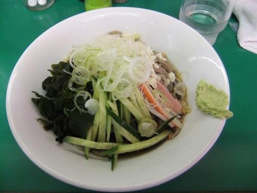 西新井本町2丁目・麺そば食堂大地の冷したぬきそば120130518.JPG