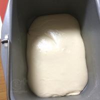 140228 パネトーネマザーで白いパン - 一次発酵の見極め